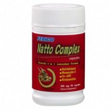 Natto Complex 4 în 1 (2000 FU/ 90 cps) - pentru sănătatea sistemului cardiovascular si boala Peyronie